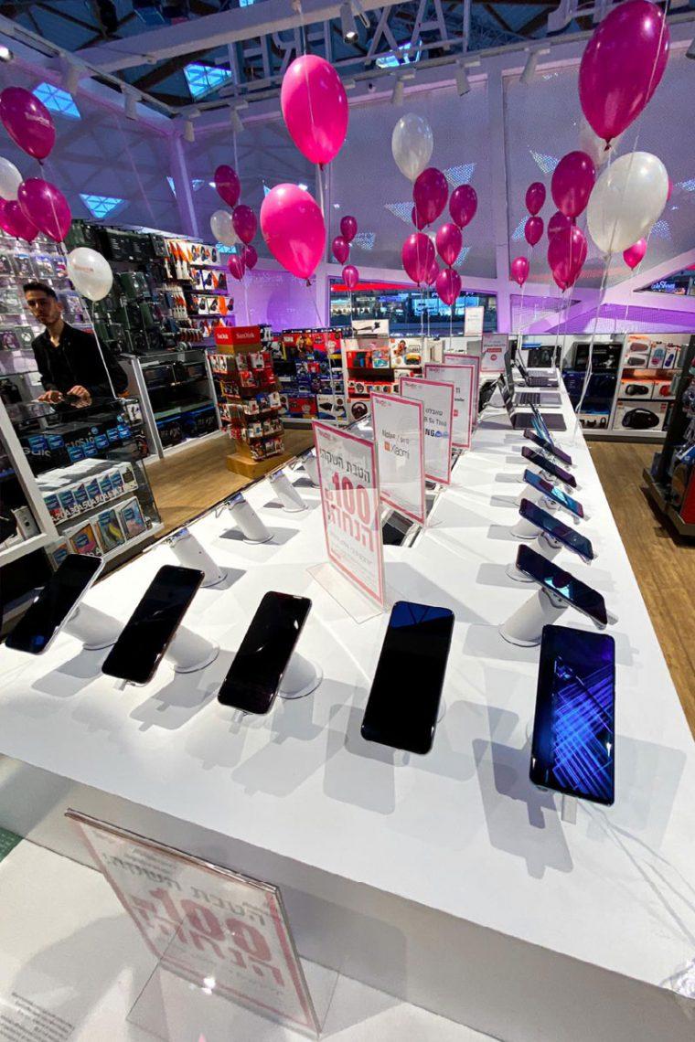 טלפונים ניידים בחנות touchit