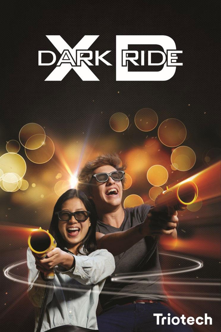 אטרקציה XD dark ride